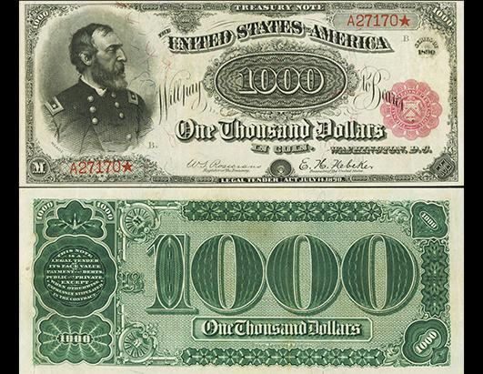Extremely rare unicorn of US paper money expected to sell