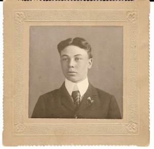 Dewey Rogers, circa 1898