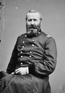 Second Corps division commander, Brig. Gen. Alexander Hays, whose troops fought at Morton's Ford